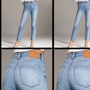 Aritzia Yoko Slim High Rise Jeans